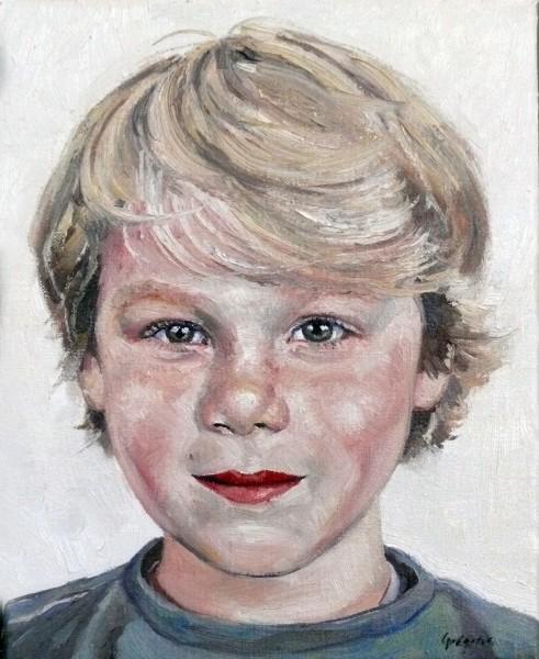 portret van Boots, olieverf op doek Jacques Gregoire