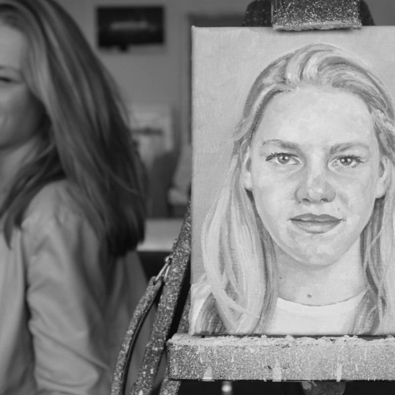 portret Hanna kl