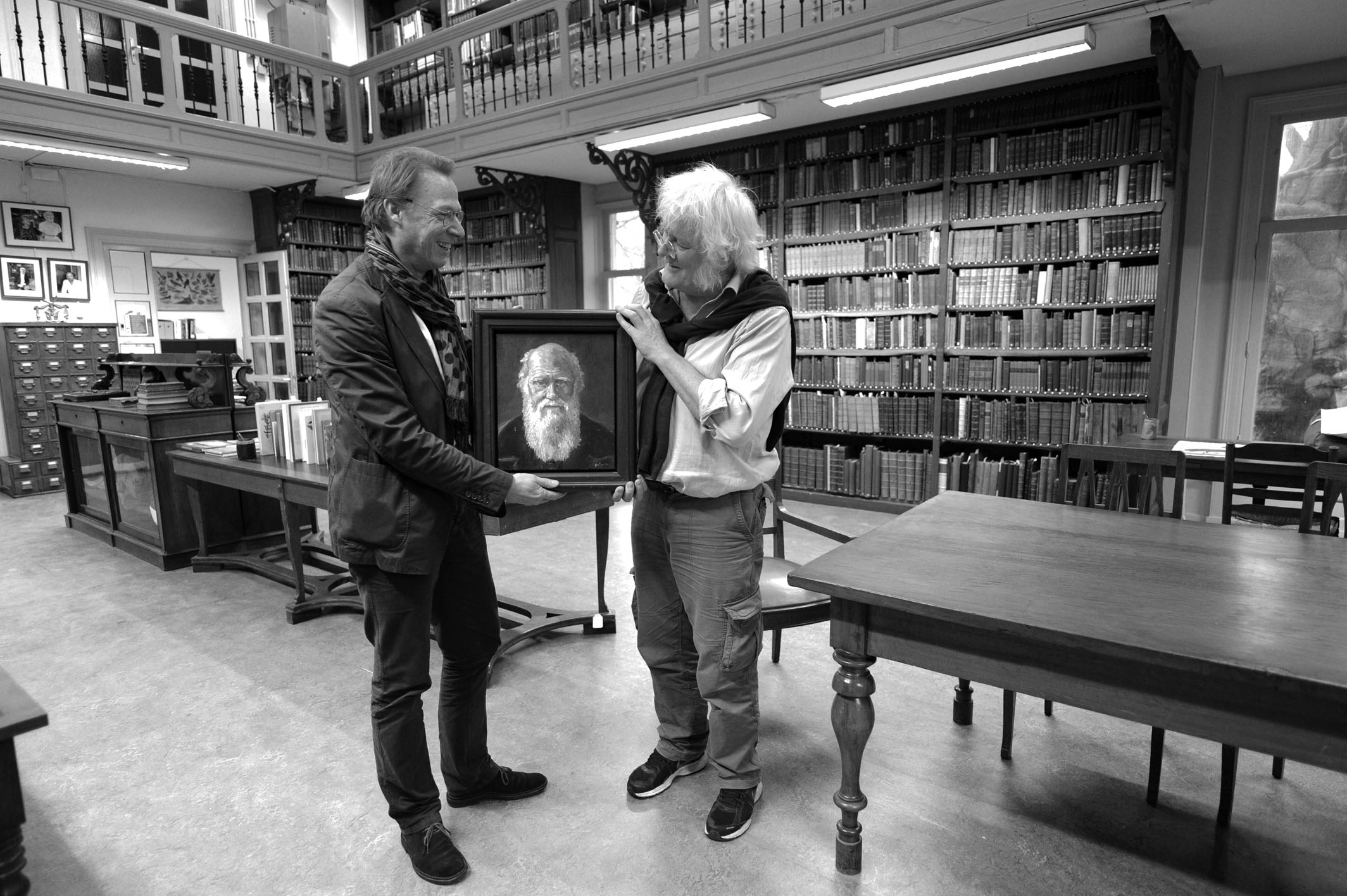 Darwin tussen Grégoire en Redmond O'Hanlon