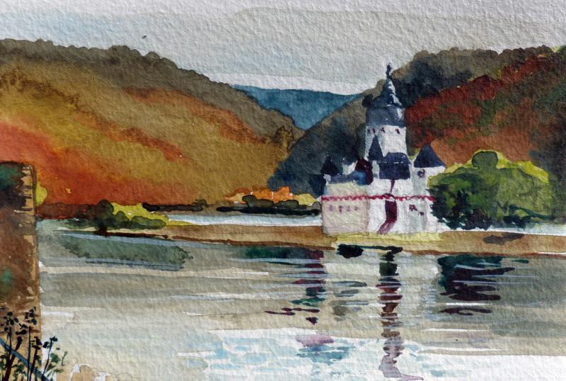 Burg Pfalzgrafenstein, Kaub klein